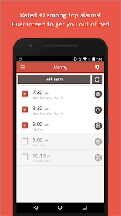 Alarmy(Sleep If U Can)- Alarma: miniatura de captura de pantalla