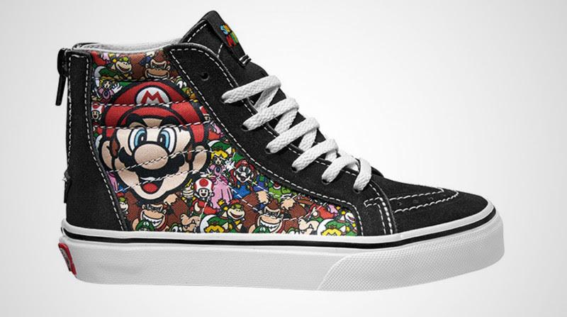 giày Vans phiên bản Nintendo