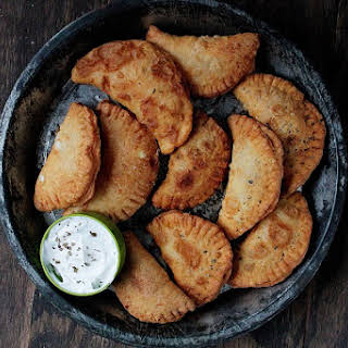Pierogies with Spicy Feta Filling.