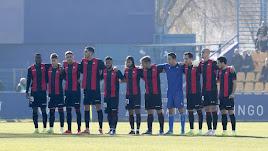 Los jugadores del Reus se plantaron en Alcorcón.