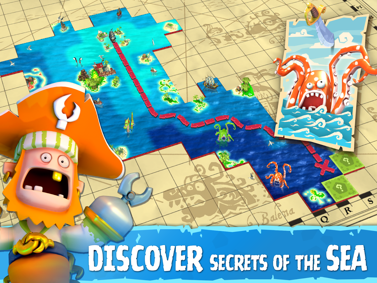 Plunder Pirates- screenshot
