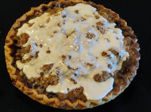 "Aye Aye Apple Rum Pie ""This pie takes awhile to make but..."