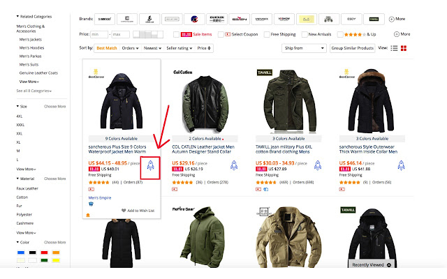 Brandignited ext for Aliexpress Dropship