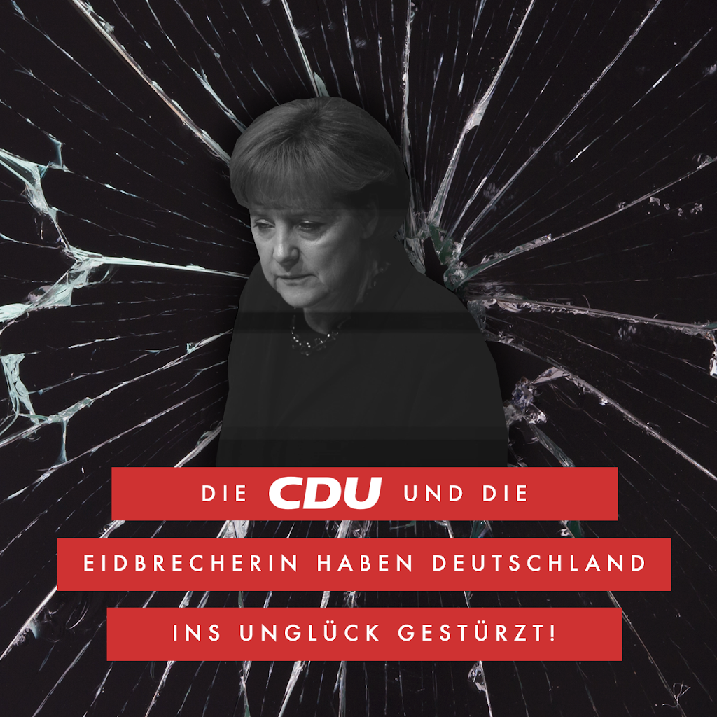Die Eidbrecherin und CDU Schergen