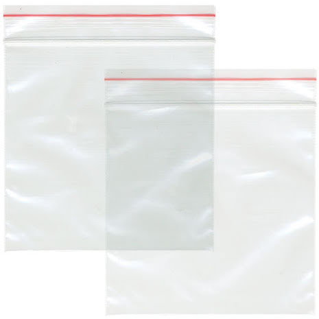 Multicraft Imports Zip-Lock Polybags 4X4 40/Pkg