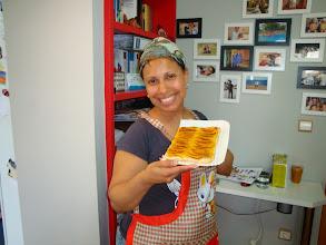 Photo: Delma y su tarta de manzana