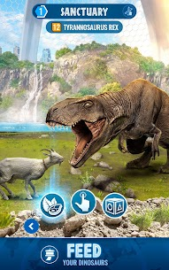 Jurassic World Alive MOD APK (Unlimited Battery, VIP Enabled) for Android 2