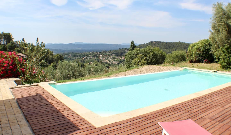Maison avec piscine et jardin Cotignac