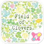 wallpaper-Field of Clovers