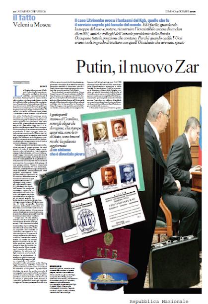 Putin, il nuovo Zar e i suoi cavalieri neri