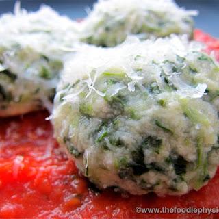 Spinach Gnudi Recipe