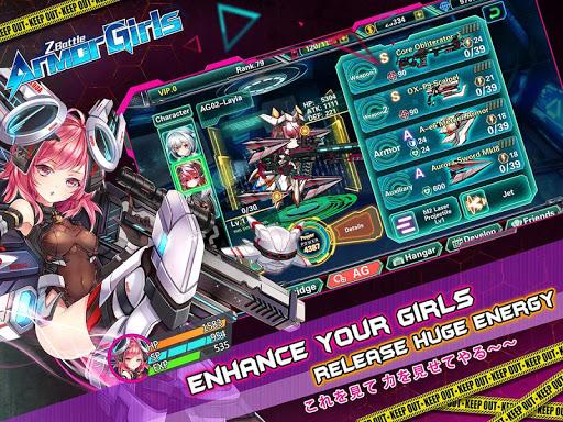 Armor Girls - Z Battle screenshot 3