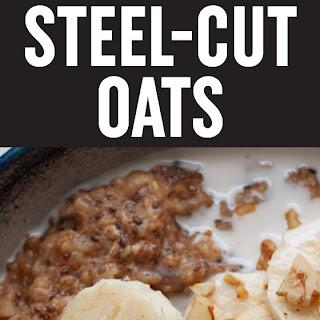 Instant Pot Banana Walnut Steel Cut Oats Recipe