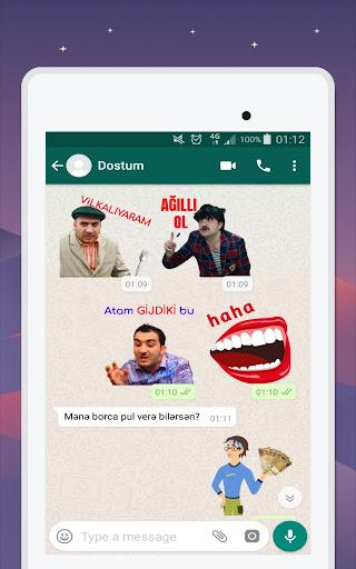 Azerbaijan Stickers for WhatsApp - WAStickerApps 12.2.06 screenshots 22