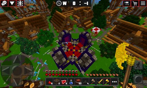 Multicraft: Block Craft Mini World 3D apkdebit screenshots 3