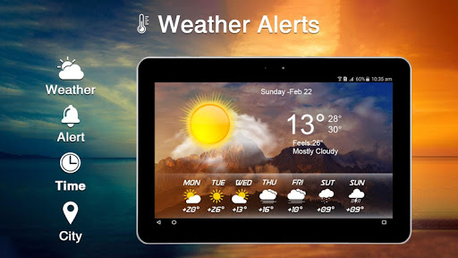 Live Weather Update 2018 : Todays Weather Forecast 1.2.2 screenshots 6