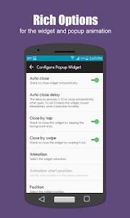Popup Widget 3 APK 3
