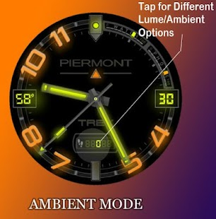 Piermont Trek Watch Face- screenshot thumbnail