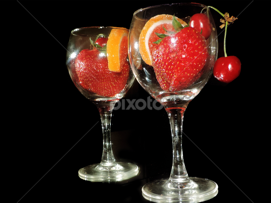 fruits in the glass by LADOCKi Elvira - Food & Drink Fruits & Vegetables ( fruits,  )