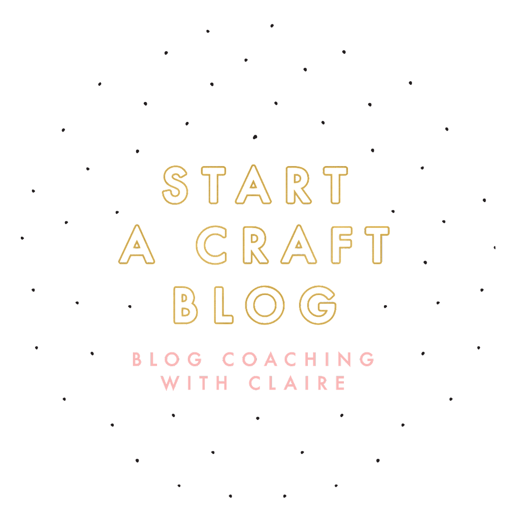 Craft Blog Kickstart - The Perfect Blogging Book For Beginners