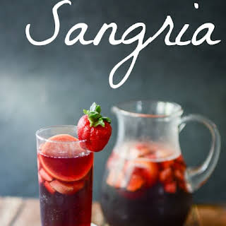 Refreshing, Fruity, Red Sangria.