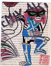 Photo: Wenchkin's Mail Art 366 - Day 279 - Card 279a