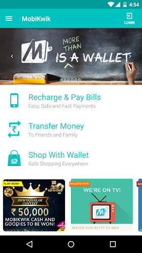 Mobile Recharge Wallet Shop