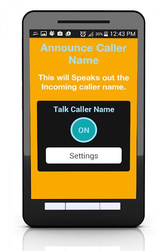 Caller Name Announcer Talker