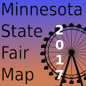 Minnesota State Fair Map 2017 - MNStateFair.Info