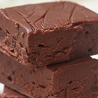 Easy Chocolate Fudge.