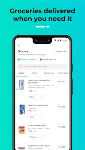 Dunzo - 24X7 Delivery: Grocery, Food, Packages Screenshot