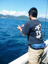 Photo: 千代田さん・・・あっ、イノウエさんタイラバにヒット!
