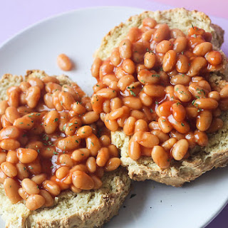 Emergency Beans On Toast.