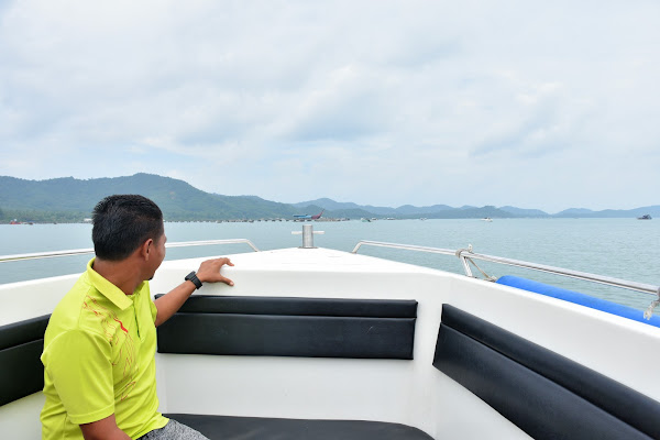 Travel from Koh Yao Noi to Ao Nang by Speed Boat