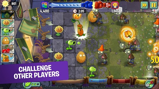 Plants vs Zombies 2 Mod Apk 8.0.1 (Unlimited Coins + Gems) 4