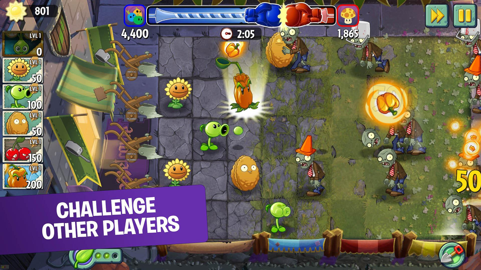 Plants vs Zombies 2 Mod Apk (Unlimited Money/Gems) 4