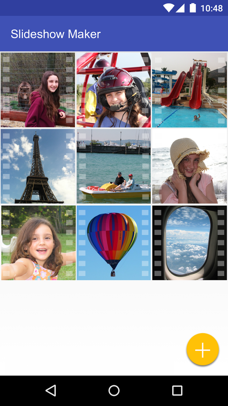Scoompa Video - Slideshow Maker and Video Editor Screenshot