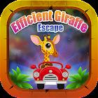 Efficient Giraffe Escape - A2Z
