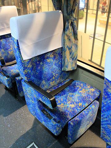 西鉄高速バス「フェニックス号」 9908 シート