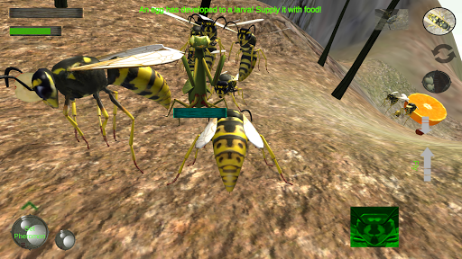 Wasp Nest Simulator - Insect and 3d animal game  screenshots 6