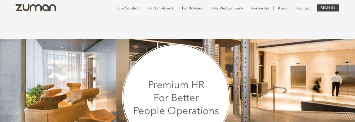 Zuman HR management app