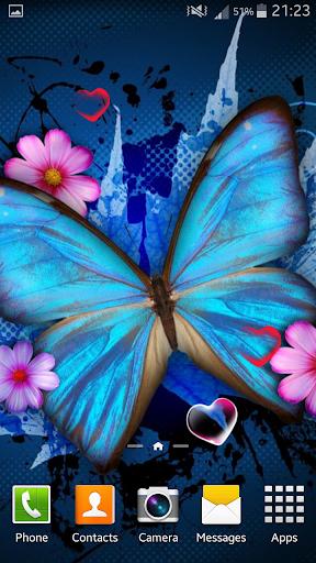 玩免費個人化APP|下載蝴蝶动态壁纸 app不用錢|硬是要APP