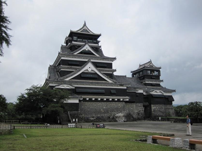 かつての熊本城天守
