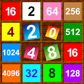 2048 Number Puzzle. Letter, Color, Kids Mode extra