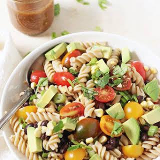 Vegetable Taco Pasta Salad.