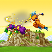 Saiyan Goku Fight Warrior Z