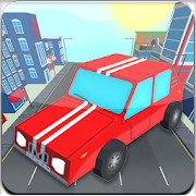 Speed Race: car crash in city