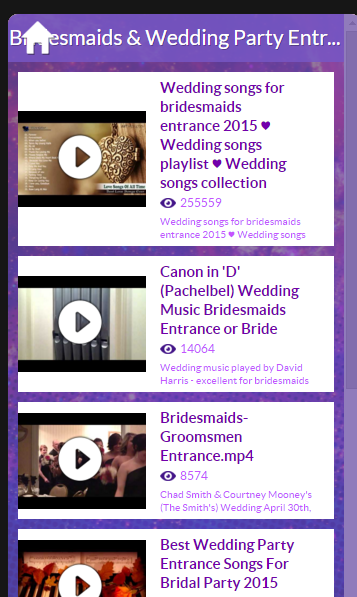 Wedding Ceremony Songs Screenshot