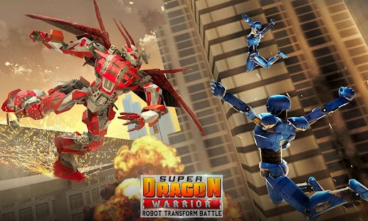 Super Dragon Warrior Robot Transform Battle - náhled