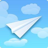 Clouds - Paper Airplane Game